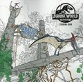Jurassic World Fallen Kingdom Coloring Book SC (2019 Dark Horse) 1-1ST