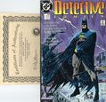 Detective Comics (1937 1st Series) 600DF.SIGNED