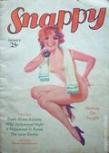 Snappy Magazine (1929-1938 Lowell-Merwil-D.M. Publishing) Pulp Vol. 9 #1