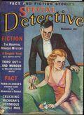 Special Detective (1937 Haig-Kostka Publications) Pulp Vol. 1 #3
