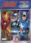 Mighty Avengers Battle Readey SC (2012 Marvel/Dalmatian Press) An Activity Book 1-REP