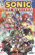 Sonic The Hedgehog (2018 IDW) 16B