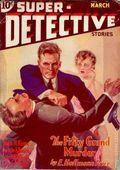 Super-Detective Stories (1934-1935 D.M. Publishing) Pulp Vol. 1 #1