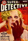 Super-Detective Stories (1934-1935 D.M. Publishing) Pulp Vol. 2 #2