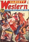 Variety Western (1938-1940 Ace Magazines) Pulp Vol. 2 #1