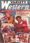 Variety Western (1938-1940 Ace Magazines) Pulp Vol. 2 #2