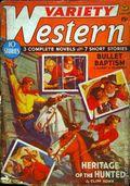 Variety Western (1938-1940 Ace Magazines) Pulp Vol. 2 #3