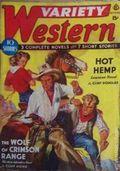 Variety Western (1938-1940 Ace Magazines) Pulp Vol. 3 #2