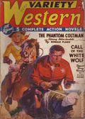 Variety Western (1938-1940 Ace Magazines) Pulp Vol. 3 #4