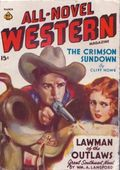 All-Novel Western (1940-1941 Ace Magazines) Pulp Vol. 4 #1