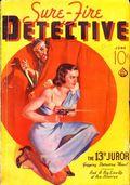 Sure-Fire Detective Magazine (1937 Ace Magazines) Pulp Vol. 1 #3