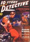 10-Story Detective Magaizine (1938-1949 Ace Magazines) Pulp Vol. 1 #2