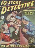 10-Story Detective Magaizine (1938-1949 Ace Magazines) Pulp Vol. 6 #1