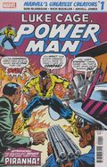 Marvel's Great Creators Luke Cage Power Man Piranha (2019 Marvel) 1