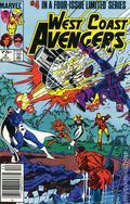 West Coast Avengers (1984 Limited Series) Mark Jewelers 4MJ