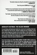 Absolute Batman The Black Mirror HC (2019 DC) 1-1ST
