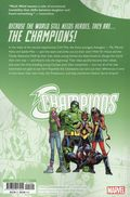 Champions Because the World Still Needs Heroes TPB (2019 Marvel) 1-1ST