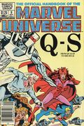 Official Handbook of the Marvel Universe (1983-1984 Marvel) Canadian Price Variant 9