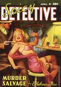 Spicy Detective Stories Murder Slavage SC (2006 Adventure House) April 1941 Replica Edition 1-1ST