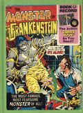 Monster of Frankenstein Book and Record Set (1974 Power Records) Rebound HC Edition PR#14N