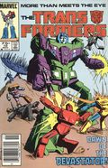 Transformers (1984 Marvel) 1st Printing 10