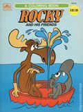 Rocky and His Friends SC (1960 A Golden Book) A Coloring Book 1925-92