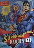 Superman Man of Steel SC (2016 Parragon) Activity Book with Spinning Pencil Toppers 1-1ST