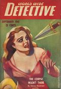 World Wide Detective Stories (1941-1942 Daring Publishing) Pulp Vol. 1 #3