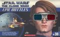 Star Wars The Clone Wars Epic Battles in 3D SC (2012 Scholastic) 1-1ST