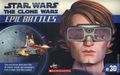 Star Wars The Clone Wars Epic Battles in 3D SC (2012 Scholastic) 1N-1ST