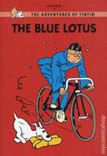 Adventures of Tintin The Blue Lotus GN (2011 LBC) Young Reader's Edition 1-REP