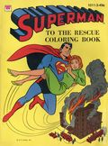Superman to the Rescue SC (1964 Whitman) A Coloring Book 1011-3