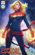 Captain Marvel (2018 11th Series) 1ARTGERM.A