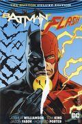 Batman/Flash The Button HC (2017 DC Universe Rebirth) Deluxe Edition 1A-REP