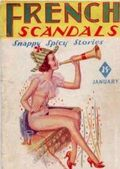 French Scandals (1936-1937 H.M. Publishing) Pulp Vol. 3 #3