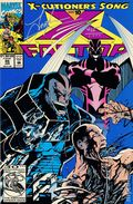 X-Factor (1986 1st Series) 86NCS.SIGNED