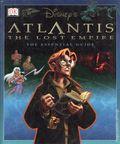 Disney's Atlantis The Lost Empire The Essential Guide HC (2001 DK) 1-1ST