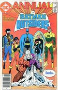 Batman and the Outsiders (1984) Annual Canadian Price Variant 2