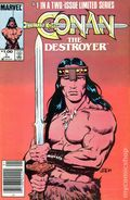 Conan the Destroyer (1985 Movie Comic) Canadian Price Variant 1