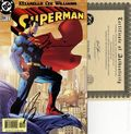Superman (1987 2nd Series) 204A.DF.SIGNED.C
