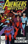Avengers West Coast (1985) Mark Jewelers 57MJ
