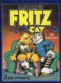 R. Crumb's Fritz the Cat 20 Postcars Box Set (2000 Pomegranate Communications) SET-1