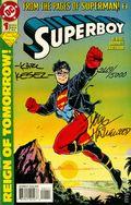 Superboy (1994 3rd Series) 1DF.SIGNED