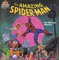 Amazing Spider-Man The Big Top Mystery SC (1986 Kid Stuff Records & Tapes) Deluxe Talking Story SET-281N