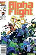 Alpha Flight (1983 1st Series) Canadian Price Variant 34