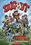 Dugout The Zombie Steals Home GN (2019 Scholastic Graphix) 1-1ST