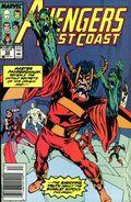 Avengers West Coast (1985) Mark Jewelers 52MJ