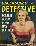 Uncensored Detective (1942) True Crime Magazine Vol. 5 #4