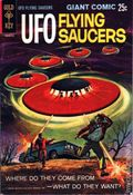 UFO Flying Saucers (1968 Gold Key) 1