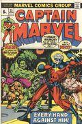 Captain Marvel (1968 1st Series Marvel) UK Edition 25UK
